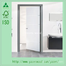 Interior White Primed Composite Wooden Door